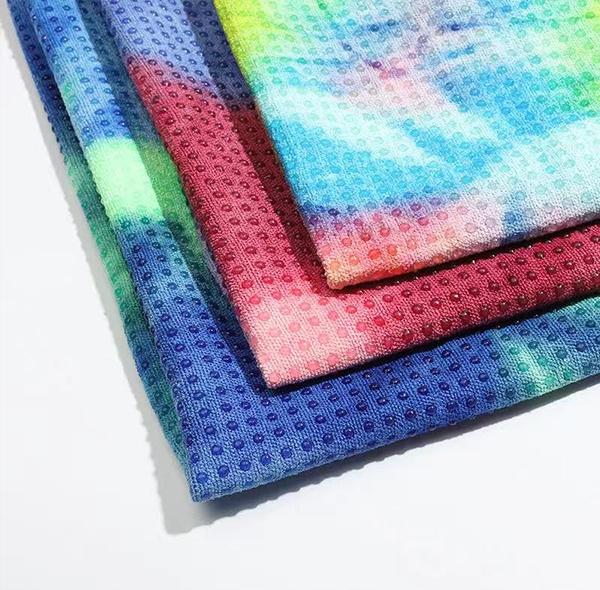 Tie-dye sports non-slip mat