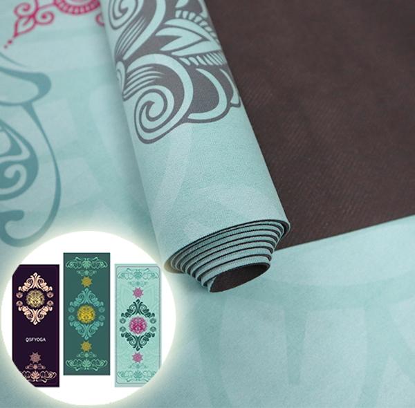 Water lily series yoga towel anti-slip mat