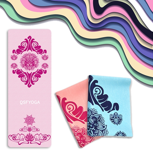 Anemone yoga mat