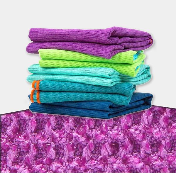 Pineapple cloth silicone non-slip yoga towel